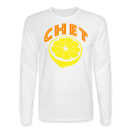 Long Sleeve Shirts ~ Men's Long Sleeve T-Shirt ~ Chet Men's Long Sleeve Tee