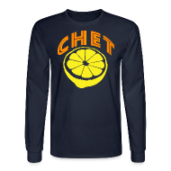 Long Sleeve Shirts ~ Men's Long Sleeve T-Shirt ~ Chet Men's Long Sleeve Tee