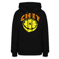 Hoodies ~ Women's Hoodie ~  Chet Women's Hooded Sweatshirt