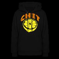 Hoodies ~ Women's Hoodie ~  Chet Women's Hooded Sweatshirt