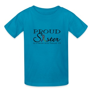 Proud T13 Sister - Kids' T-Shirt