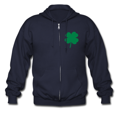 Four Leaf Clover  Zip Hoodies/Jackets