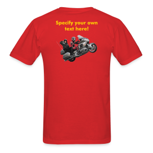 Men's T Back WWheelie custom - Men's T-Shirt