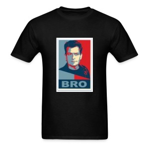 Charlie Sheen Bro - Men's T-Shirt