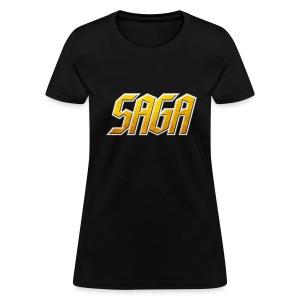 SAGA Ladies Logo T - Women's T-Shirt