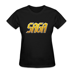 SAGA Ladies Logo T - Women's T-Shirt