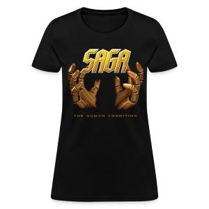 SAGA ladies Hands T - Women's T-Shirt