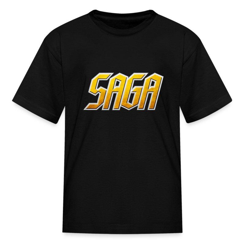 Saga Childs  Logo shirt - Kids' T-Shirt