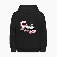 Who's Wimpy Now? Kids Hooded Sweatshirt
