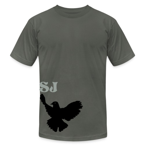 dove tee - Men's Fine Jersey T-Shirt