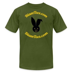 Blam Tees - Full Circle Logo Tee - Men's T-Shirt - Men's T-Shirt by American Apparel