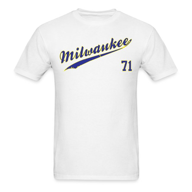 Milwaukee Brewers #71 Bob Uecker