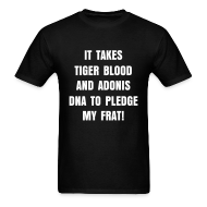 T-Shirts ~ Men's T-Shirt ~ Tiger Blood Tee (Shirt Color Changeable)