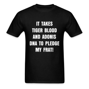 Tiger Blood Tee (Shirt Color Changeable) - Men's T-Shirt