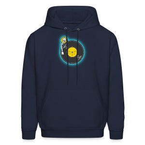 Baby Scratch Icon - Men's Hoodie