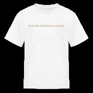 Kids' Shirts ~ Kids' T-Shirt ~ Future Steinway Artist