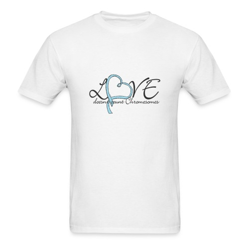 Love doesn't count Chromosomes - Men's T-Shirt