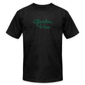Garden Hoe - Unisex - Men's T-Shirt by American Apparel