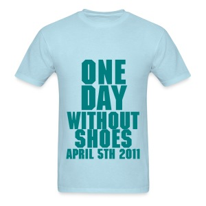 Tom's One Day Without Shoe's Regular Neck Tee - Men's T-Shirt
