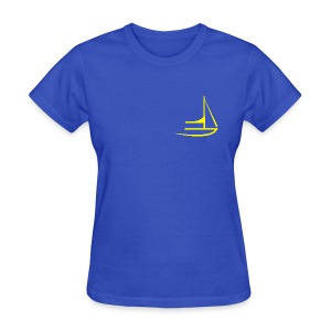 gybe-girl - Women's T-Shirt