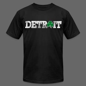 Detroit Shamrock Men's American Apparel Tee - Men's Fine Jersey T-Shirt
