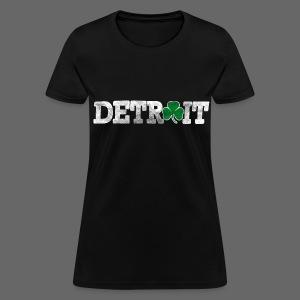 Detroit Shamrock Women's Standard Weight T-Shirt - Women's T-Shirt