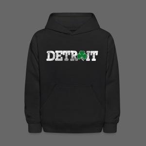 Detroit Shamrock Kid's Hooded Sweatshirt - Kids' Hoodie
