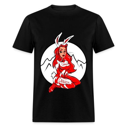 SKI BUNNY - Men's T-Shirt