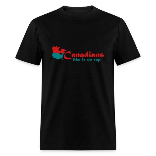 CANADIANS ON TOP - Men's T-Shirt