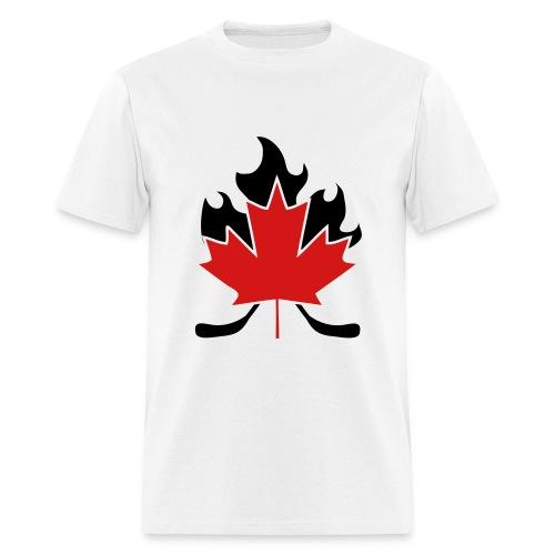 CDN HOCKEY STICKS - Men's T-Shirt