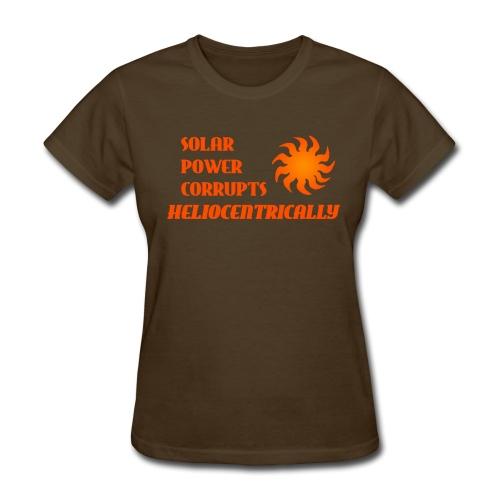Heliocentric (Women's) - Women's T-Shirt
