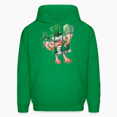 Saint Paddy's Day Sheep Drinking Beer Hoodies