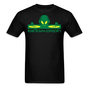 Betamorph Recordings Alien DJ T  - Men's T-Shirt