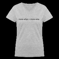 T-Shirts ~ Women's V-Neck T-Shirt ~ Article 7181346