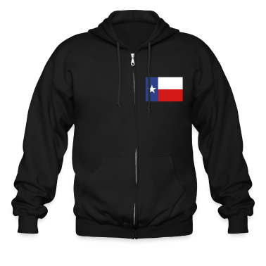 Lone Star Texas Flag Zip Hoodies/Jackets