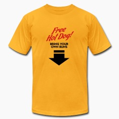 Free Hot Dog (2c) T-shirts (manches courtes)