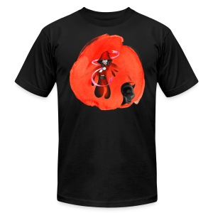 Red Riding T-shirt - Men's T-Shirt by American Apparel