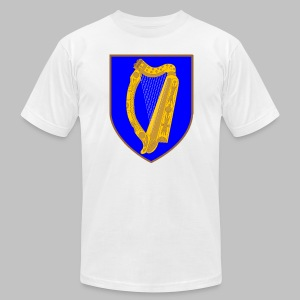 Ireland Coat Of Arms - Men's T-Shirt by American Apparel