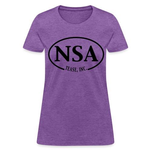 NSA: Womens' Bargain T Shirt - Women's T-Shirt