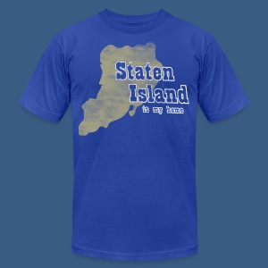 Staten Island is My Home - Men's T-Shirt by American Apparel
