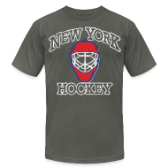 T-Shirts ~ Men's T-Shirt by American Apparel ~ New York Hockey