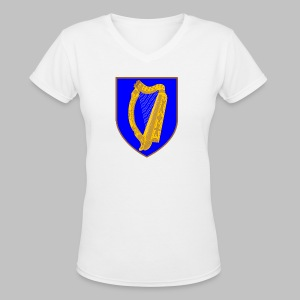 Ireland Coat Of Arms - Women's V-Neck T-Shirt