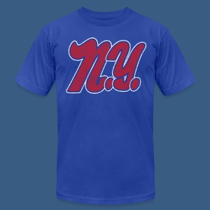 NY Football Style - Men's T-Shirt by American Apparel