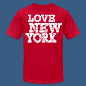 Love New York Sliced - Men's Fine Jersey T-Shirt