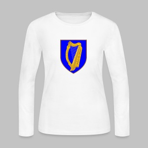 Ireland Coat Of Arms - Women's Long Sleeve Jersey T-Shirt