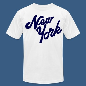 Loopy New York - Men's T-Shirt by American Apparel