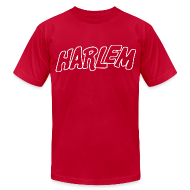 T-Shirts ~ Men's T-Shirt by American Apparel ~ Harlem Outlined