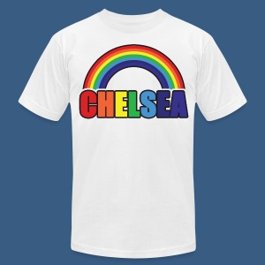 Chelsea Rainbow - Men's T-Shirt by American Apparel