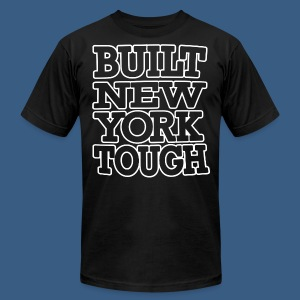 Built New York Tough - Men's T-Shirt by American Apparel