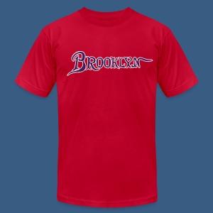 Brooklyn Old Font - Men's Fine Jersey T-Shirt